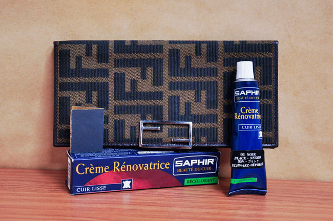 Жидкая кожа Saphir (Сапфир) Creme Renovatrice (Renovating Cream)